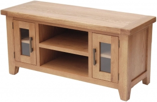 Hampshire Oak Large TV Unit