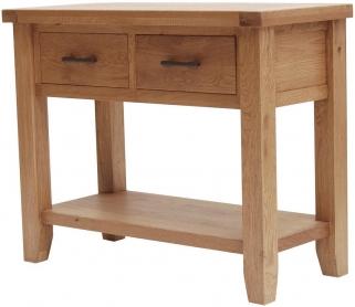 Hampshire Oak Console Table