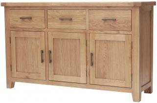Hampshire Oak Large Sideboard