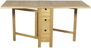 Hampshire Oak Gate Leg Dining Table