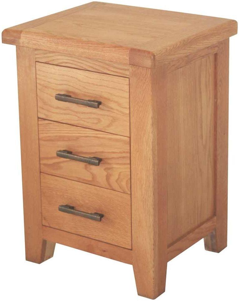 Hampshire Oak Bedside Cabinet