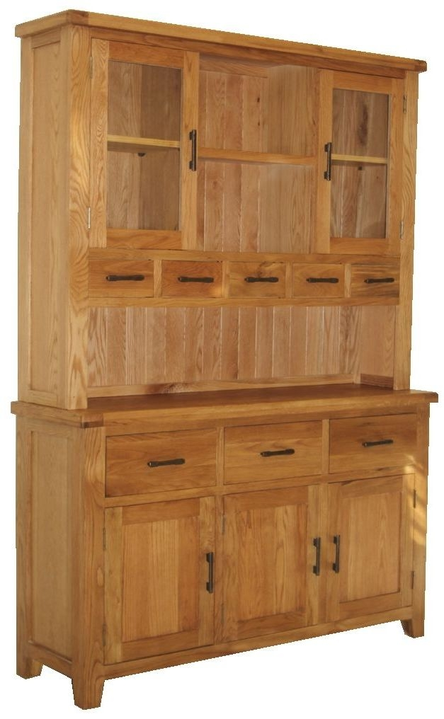 Hampshire Oak Large Dresser