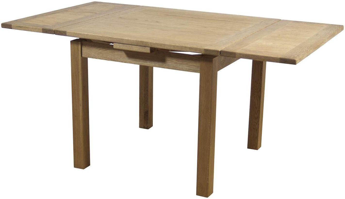 Hampshire Oak Draw Leaf Extending Dining Table