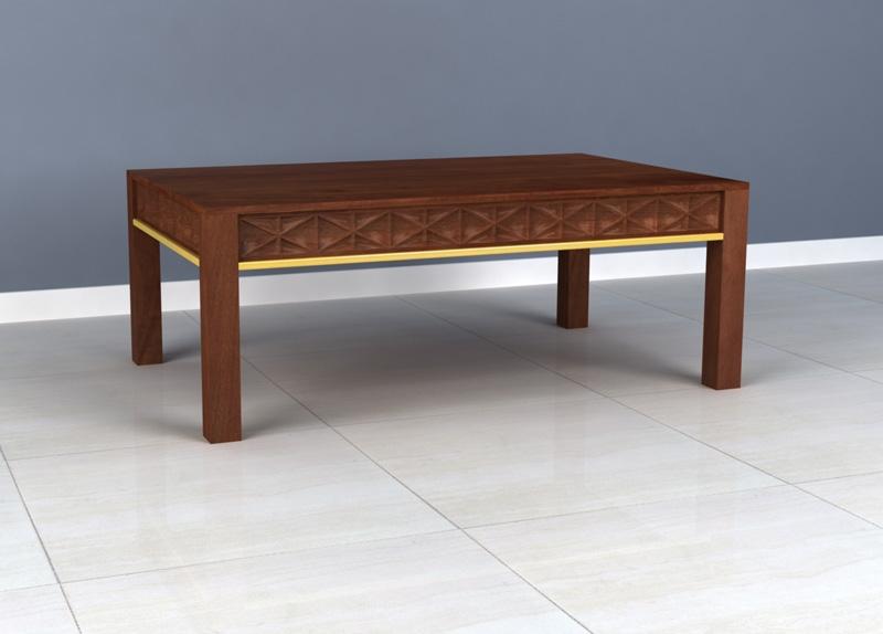 Ivy Mango Wood Coffee Table
