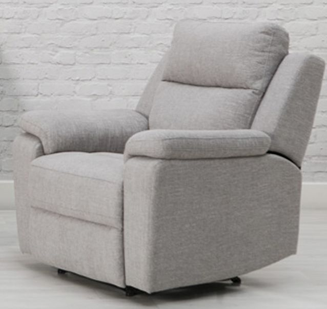 Jackson Fabric Recliner Armchair