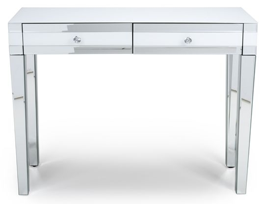 Liberty White Mirrored Dressing Table