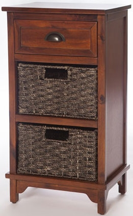 Libra Dark 3 Drawer Chest