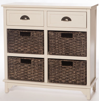 Libra Off White 6 Drawer Chest