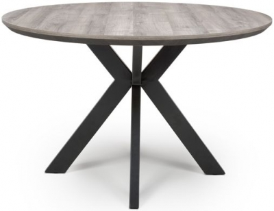 Manhattan Grey Round Dining Table
