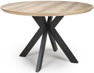 Manhattan Oak Round Dining Table