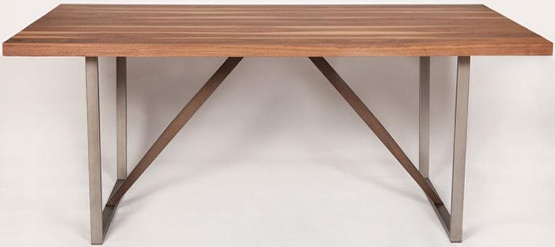 Nevada Walnut Rectangular Dining Table - 182cm