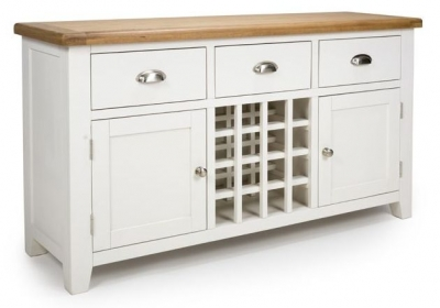 Oxford Painted Sideboard with Wine Rack