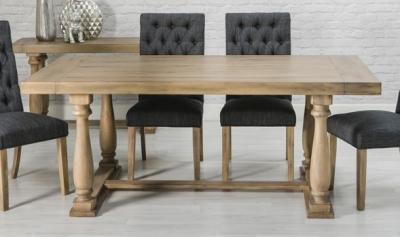 Riviera Oak Rectangular Dining Table - 200cm