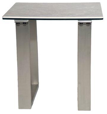 Rocca Grey End Table
