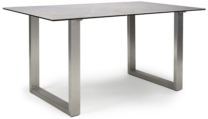 Rocca Grey Extending Dining Table
