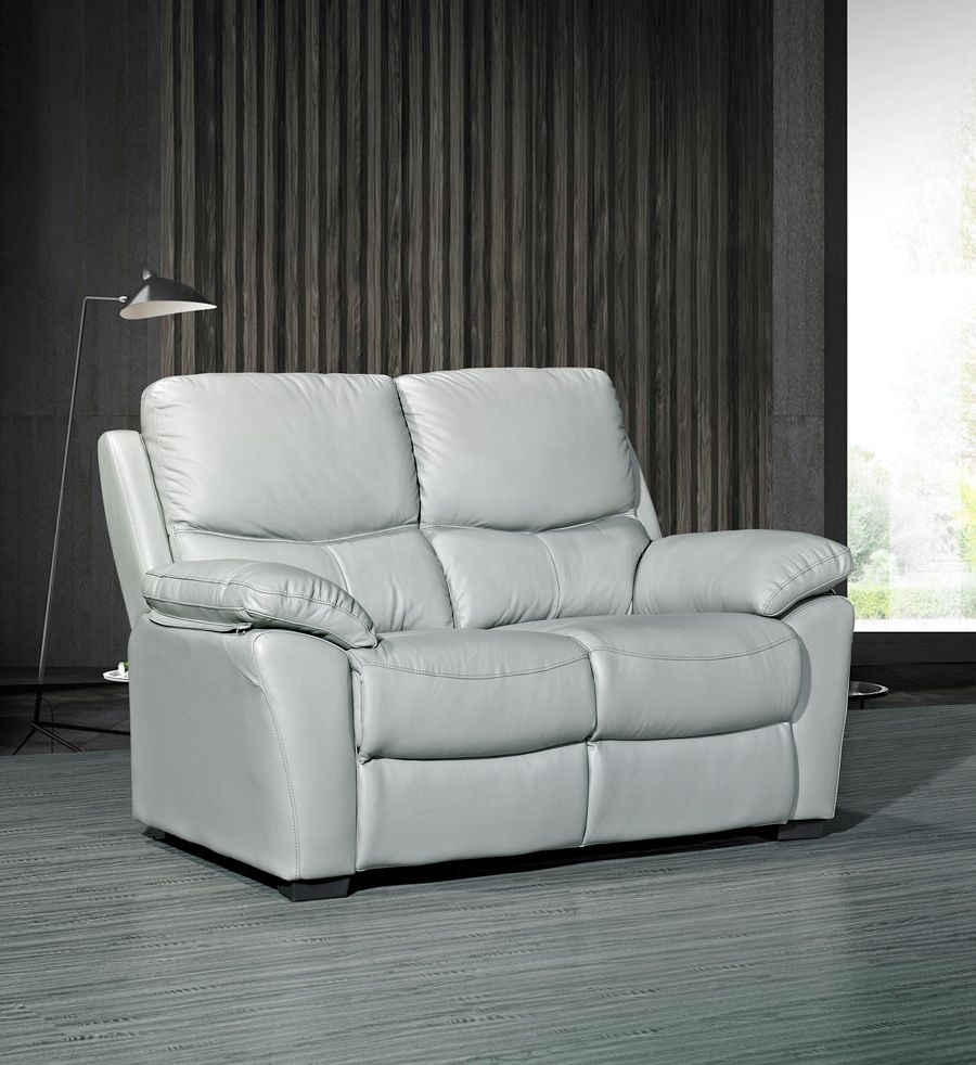 Rossi Leather 2 Seater Fixed Sofa