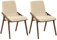 Veneto Leather Dining Chair (Pair)