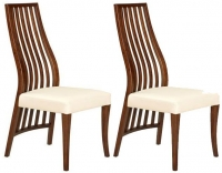 Veneto Wooden Back Dining Chair (Pair)