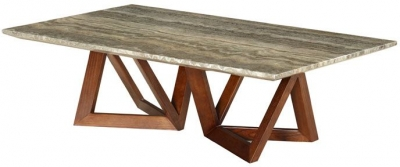 Veneto Grey Marble Coffee Table