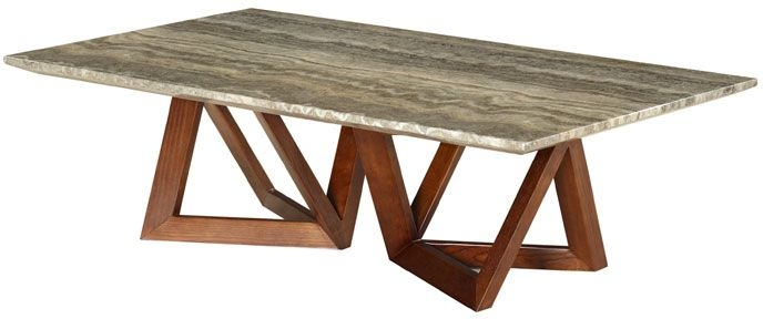 Veneto Marble Coffee Table - Grey