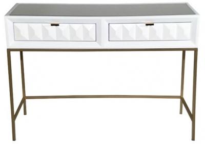 Verona White High Gloss Console Table