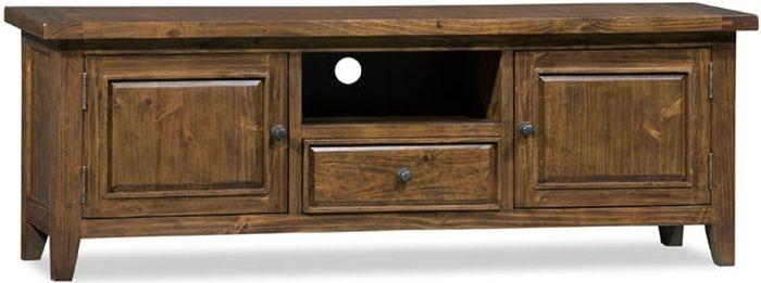 Wellington Chestnut Reclaimed Pine 2 Door 1 Drawer TV Unit