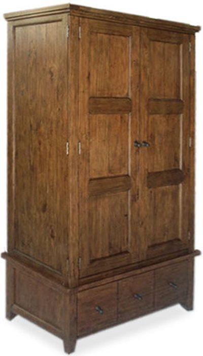 Wellington Chestnut 2 Door Wardrobe