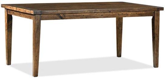 Wellington Chestnut Rectangular Extending Dining Table - 180cm-210cm