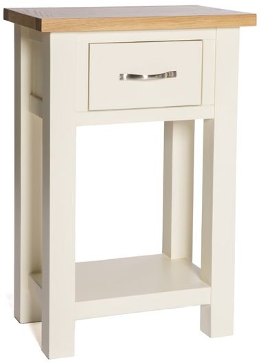 York Ivory Console Table