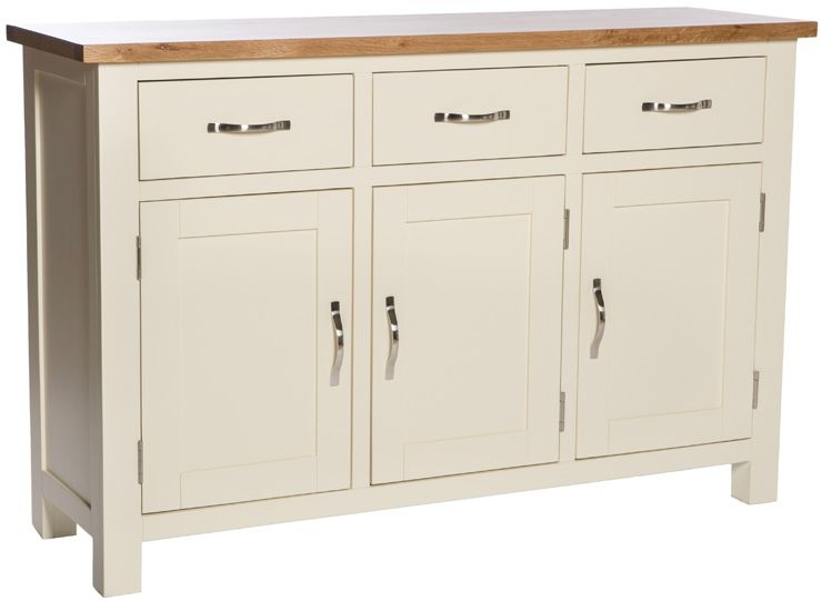 York Ivory Large Sideboard