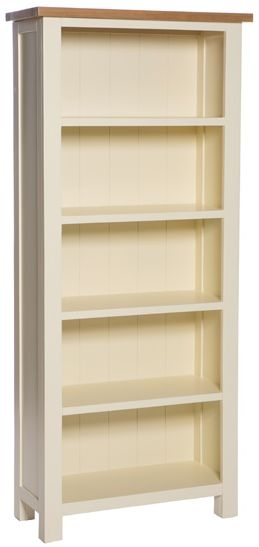 York Ivory Bookcase