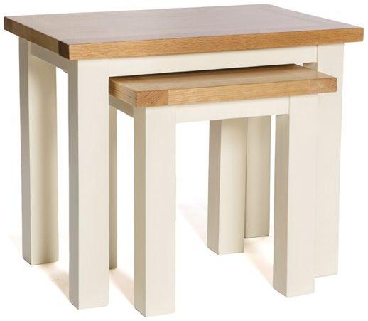 York Ivory Nest of Tables