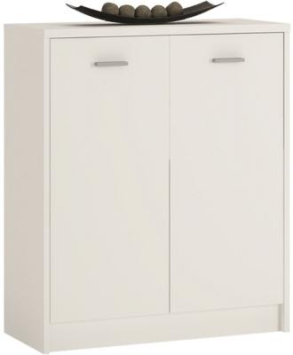 4 You Pearl White 2 Door Cupboard