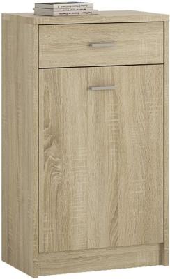 4 You Sonama Oak 1 Door Combi Cupboard