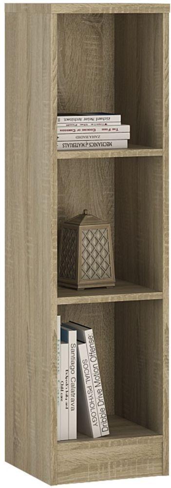 4 You Sonama Oak Bookcase - Medium Narrow