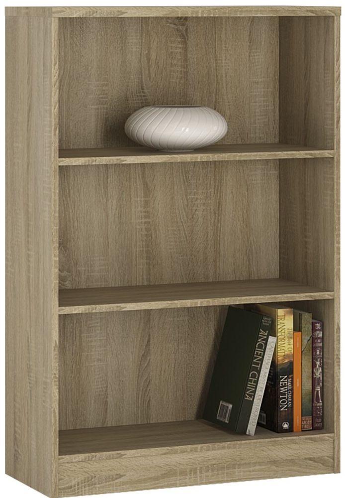 4 You Sonama Oak Bookcase - Medium Wide
