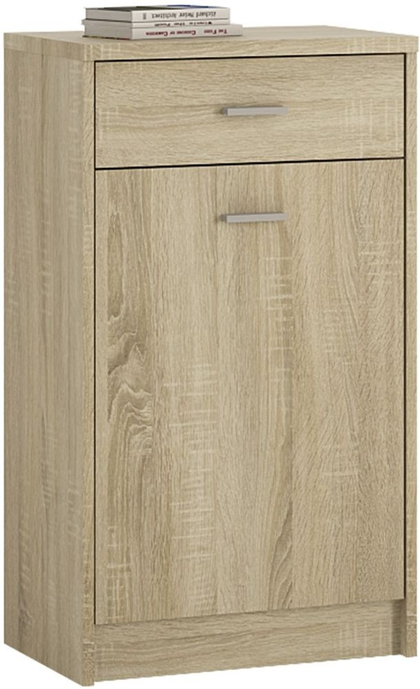 4 You Sonama Oak Cupboard - 1 Door 1 Drawer