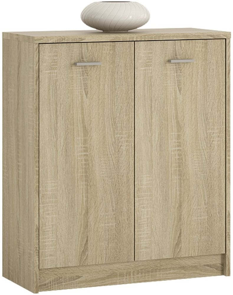 4 You Sonama Oak 2 Door Cupboard