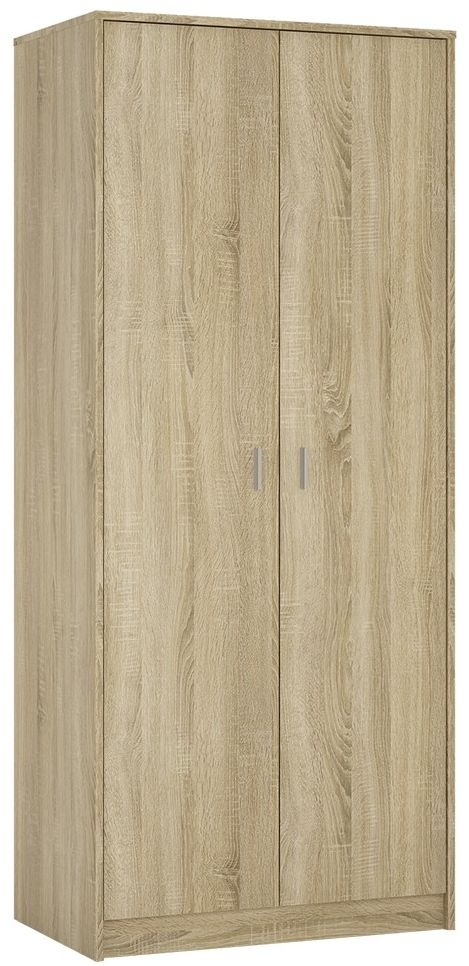 4 You Sonama Oak 2 Door Wardrobe