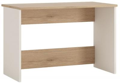 4Kids Desk - Light Oak and White High Gloss