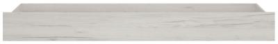 Angel Underbed Drawer - White Crafted Oak Melamine