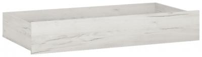 Angel Cot Drawer - White Crafted Oak Melamine