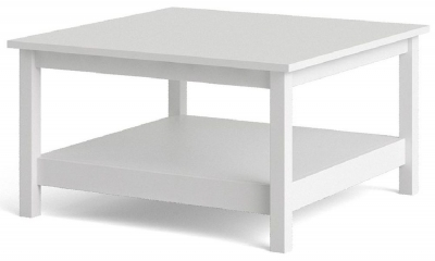 Barcelona White Coffee Table