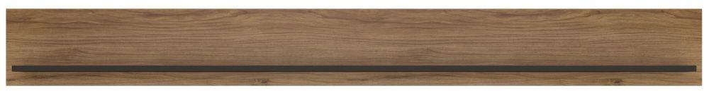Brolo Large Wall Shelf - Walnut and Dark