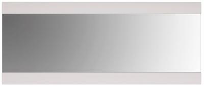 Chelsea Rectangular Wall Mirror - 164cm x 69cm White High Gloss