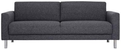 Cleveland Nova Antracit Fabric 3 Seater Sofa
