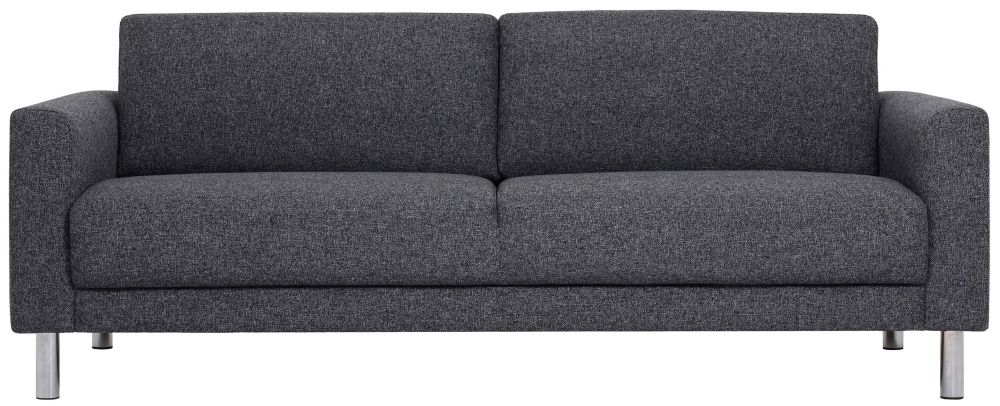 Cleveland Nova Antracit Fabric 3 Seater Sofa