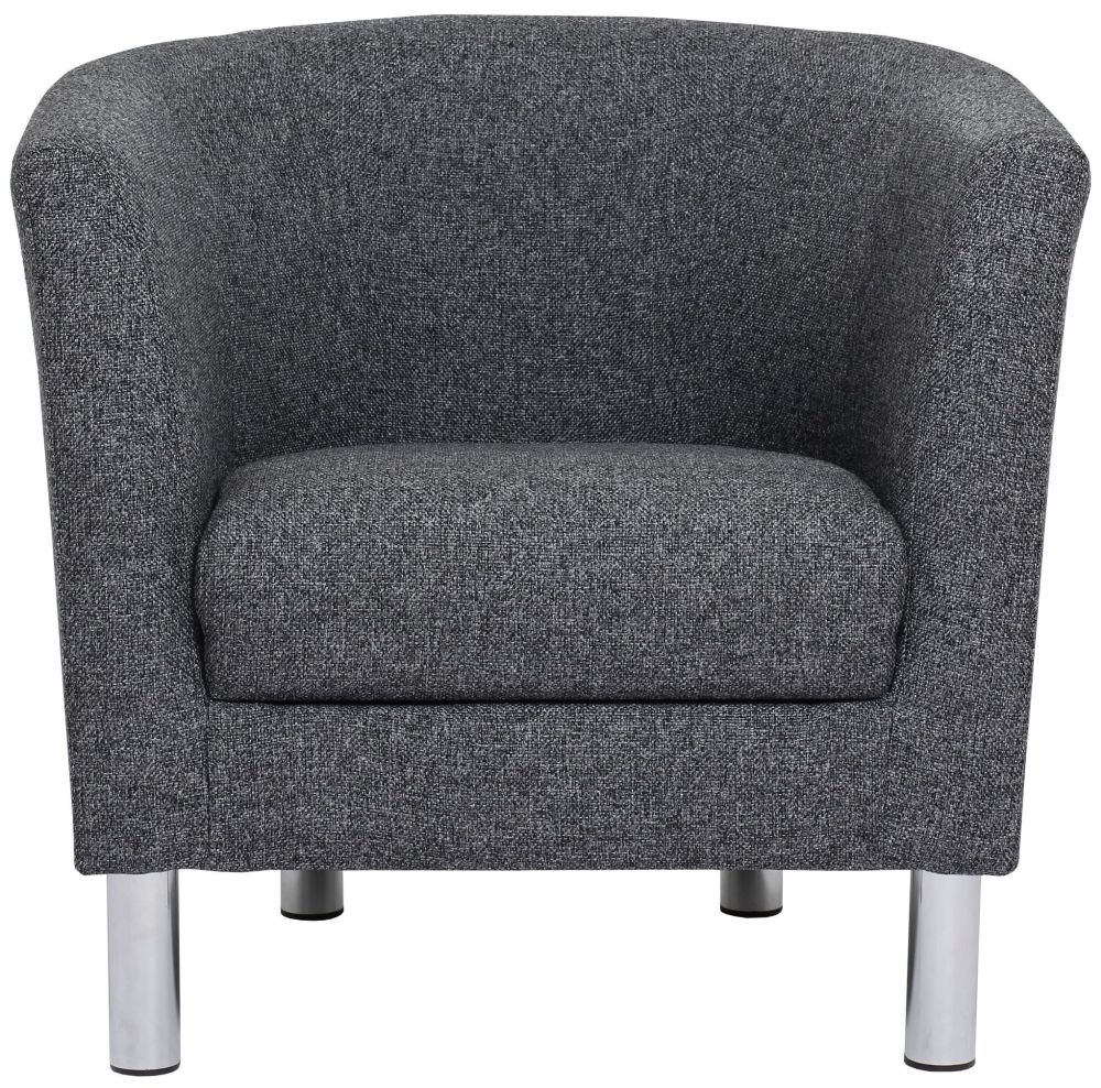 Cleveland Nova Antracit Fabric Armchair