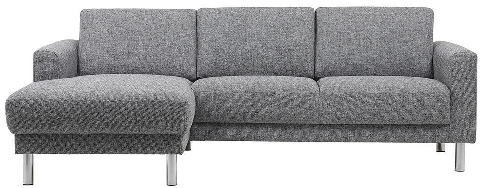 Cleveland Nova Light Grey Chaiselongue Left Hand Sofa