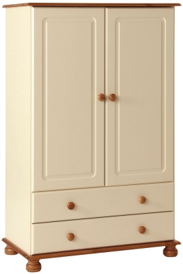 Copenhagen Cream 2 Door Wardrobe